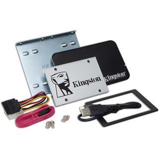 """120GB Kingston SSDNow UV400 Upgrade Kit 2.5"""" (6.4cm) SATA 6Gb/s TLC Toggle (SUV400S3B7A/120G)"""