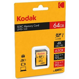 64 GB Kodak UHS-I U3 SD Class 10 Retail