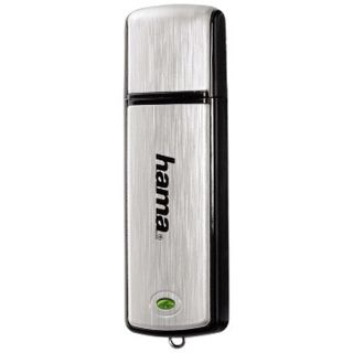 "4 GB Hama FlashPen ""Fancy"" silber USB 2.0"