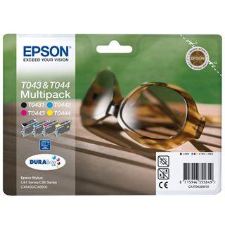 Epson Tinte C13T04324010 schwarz, cyan, magenta, gelb