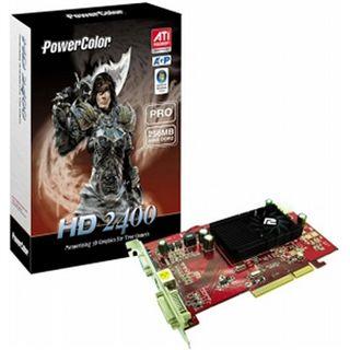 256MB Powercolor Radeon HD 2400 Pro DDR2 AGP BULK