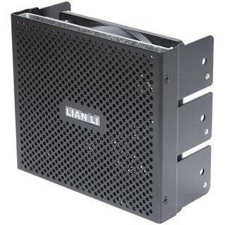 "Lian Li Intake Cooling Kit schwarz 3fach Blende für 5,25"" (BZ-502B)"