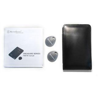 """2,5""""(6,35cm) Silverstone SST-TS01B Treasure Series SATA -> USB Schwarz"""