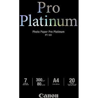 Canon PT-101 Pro Platinum Plus Fotopapier 29.7x21 cm (20 Blatt)