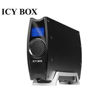 """3,5"""" (8,89cm) ICY BOX IB-380StUS2-B SATA -> USB, eSATA Schwarz"""