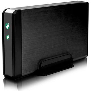 "3.5""(8,89cm) Fantec Fanbox FB-35US2 SATA USB 2.0 Schwarz"
