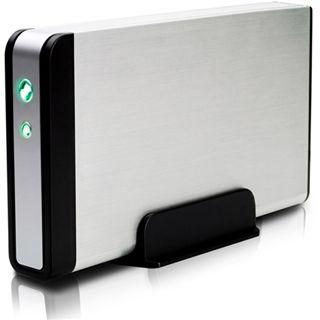 "3.5""(8,89cm) Fantec Fanbox FB-35US2 Alu SATA/eSATA USB 2.0 Silber"