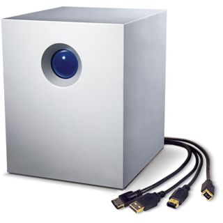 "6000GB LaCie 4big Quadra 301434EK 3.5"" (8.9cm) eSATA/Firewire/USB 2.0 silber"