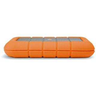"""500GB LaCie Rugged 301371 2.5"""" (6.4cm) Firewire/USB 2.0 orange/silber"""