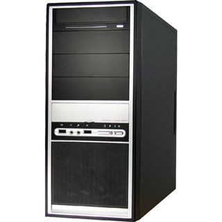 Inter-Tech Magnum AOC-01 Midi Tower 500 Watt schwarz