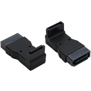 InLine SATA Adapter Stecker/Buchse, , gewinkelt,