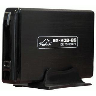 "WinTech EX-MOB-85 3.5"" (8,89cm) USB 2.0 schwarz"