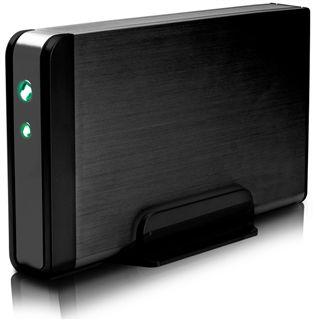 1500GB Fantec fanbox USB 2.0 eSATA Schwarz