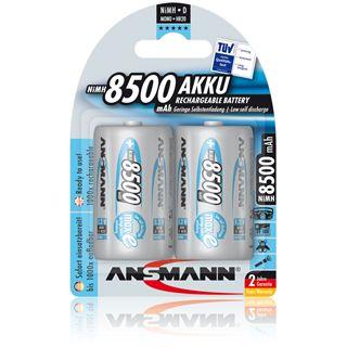 ANSMANN maxE HR20 Nickel-Metall-Hydrid D Mono Akku 8500 mAh 2er Pack