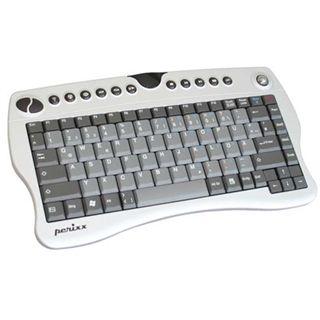 Perixx Mini-Tastatur mit Funk USB Anschluss -- Italienisches Tastatur-Layout