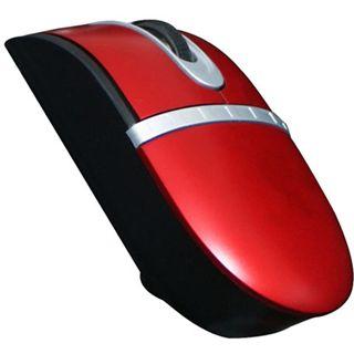 Perixx Perimice-404 Tiny Optische Maus Rot USB