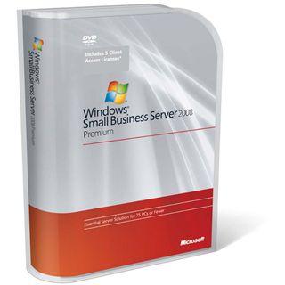 Microsoft Windows Small Business Server 2008 Premium 64 Bit Deutsch Zugriffslizenz 1 User