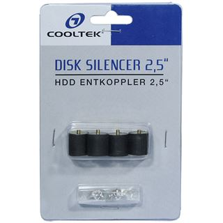 "Cooltek Disk Silencer 2,5"" HDD Entkoppler"