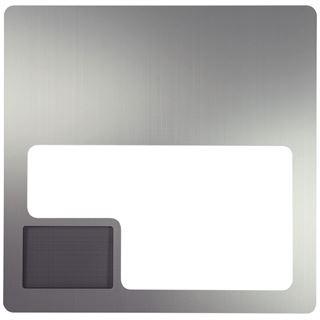 Lian Li silbernes Seitenteil mit Fenster und Mesh für PC-V2000 (W-V2000AP)