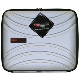 """42 degrees Notebook-Tasche 15,4"""" (39,1cm) silber"""
