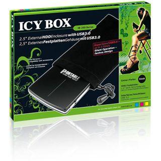 "ICY BOX Icy Box IB-250StU3-B 2.5"" (6,35cm) USB 3.0 schwarz"