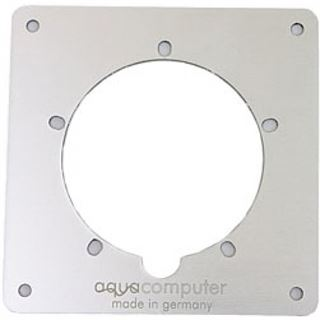 aqua computer Einbaublende silber