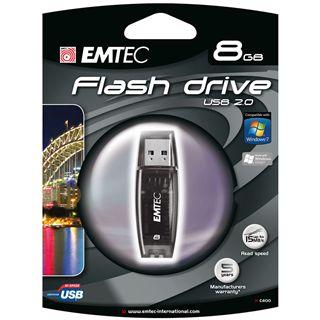8 GB EMTEC C400 schwarz USB 2.0