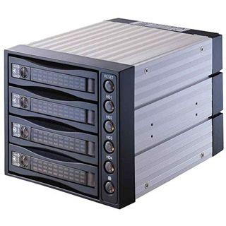 """Chieftec SNT-3141 3x 5.25"""" schwarzer Wechselrahmen für 4x 3.5"""" Festplatten (SNT-3141 SATA)"""