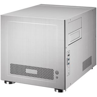 ITX Lian Li PC-V352A gedämmt Cube Gehäuse o.NT Silber