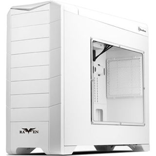 Silverstone SST-RV02W-EW Raven 2 Evolution Midi-Tower - white