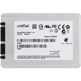 "256GB Crucial C300 Series 1.8"" (4.6cm) SATA 6Gb/s MLC asynchron (CTFDDAA256MAG-1G1)"