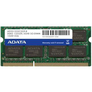 4GB ADATA Value DDR3-1333 DIMM CL5 Single