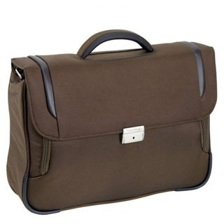"Samsonite X?Blade Briefcase 1 Gusset16"" Lighter, braun"