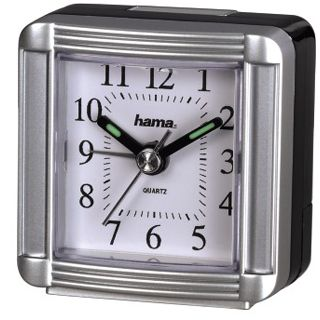 Hama Reisewecker A30, Silber
