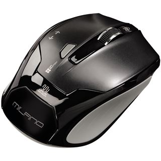 Hama Milano Optical Mouse USB schwarz (kabellos)