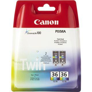 Canon Tinte 2x CLI-36 1511B018 cyan, magenta, gelb