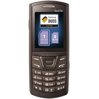 Samsung E2152 Dual-SIM Luxury Brown ohne Simlock ohne Branding
