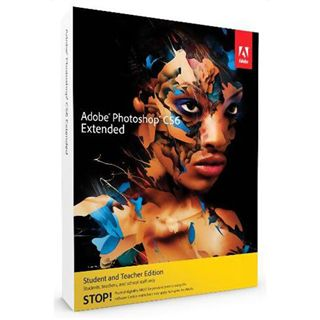 Adobe Photoshop Extended CS6 32/64 Bit Deutsch Grafik EDU-Lizenz PC (DVD)