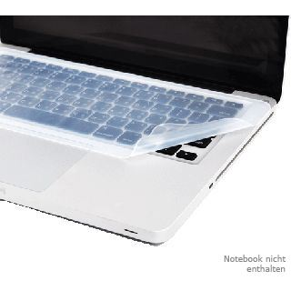 Logilink Notebook Tastaturabdeckung Silikon Pad [wh]