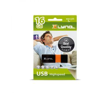 16 GB xlyne Wave schwarz USB 2.0