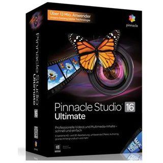 Pinnacle Studio 16 Ultimate 32/64 Bit Multilingual Grafik EDU-Lizenz PC (DVD)