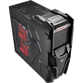 AeroCool Mechatron Black Edition Midi Tower ohne Netzteil schwarz