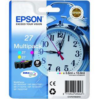 Epson Tinte 27 C13T27054010 cyan, magenta