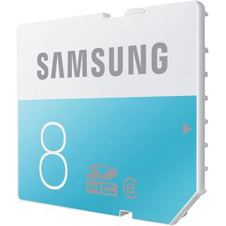 8 GB Samsung Standard SDHC Class 6 Retail