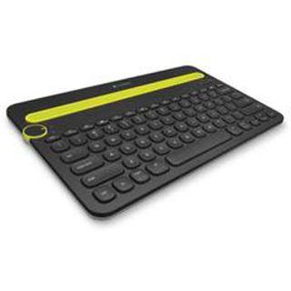 Logitech K480 Bluetooth Deutsch schwarz/gelb (kabellos)