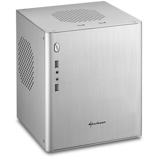 Sharkoon CA-I Mini-ITX ohne Netzteil silber