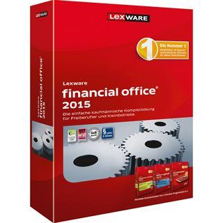 Lexware Financial Office 2015 Version 19 32/64 Bit Deutsch Buchhaltungssoftware Vollversion PC (CD)