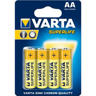 Varta Batterie Zink-Kohle Mignon AA, R06, 1.5V