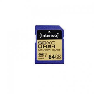 64 GB Intenso SDXC Class 10 U1 Retail