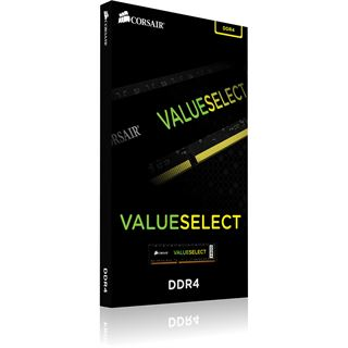 4GB Corsair ValueSelect DDR4-2133 DIMM CL15 Single